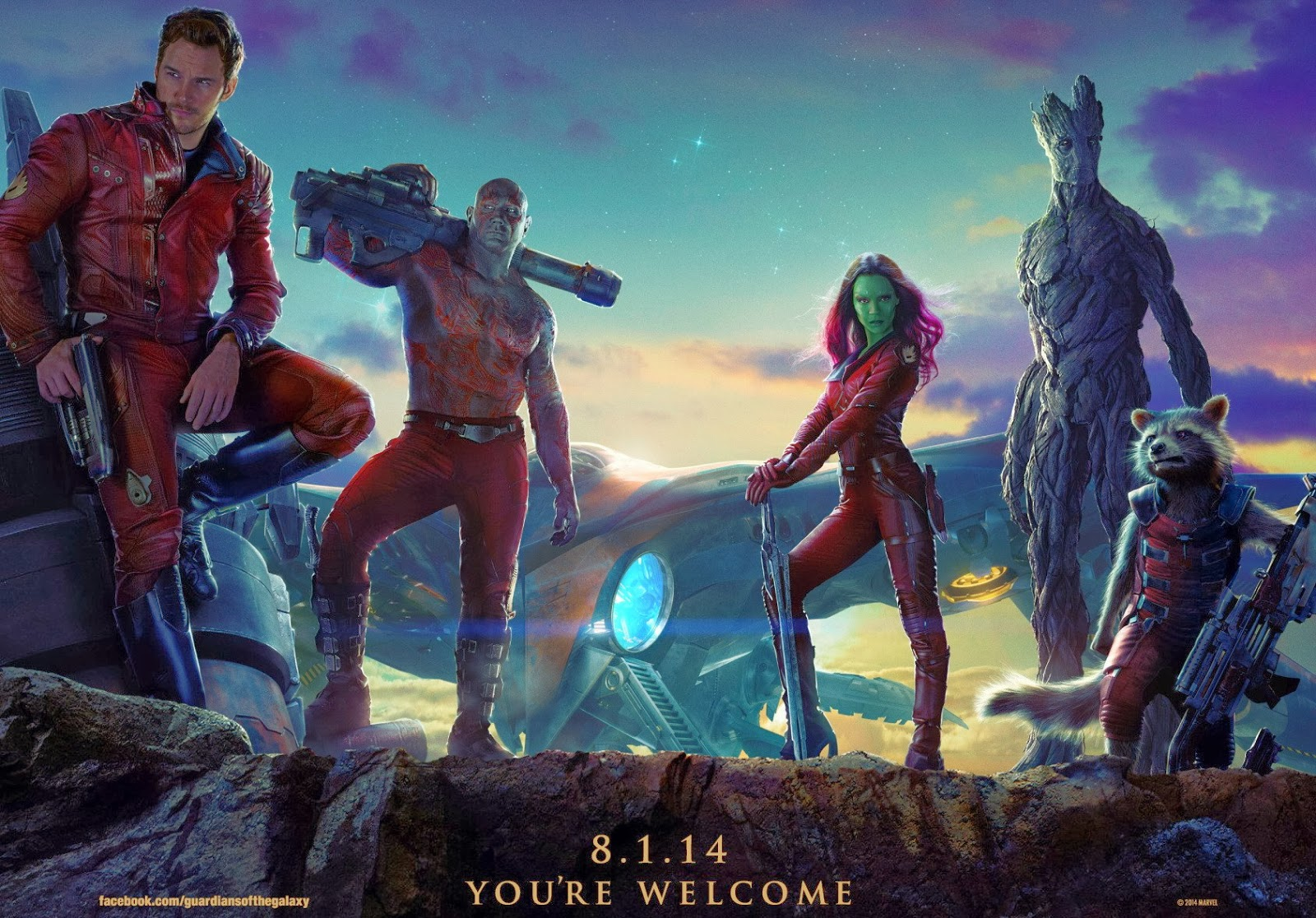 Guardians of the Galaxy: First Trailer, Poster & Teaser Clips