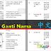 20 Kata Ganti Nama 中文解释  For SJKC