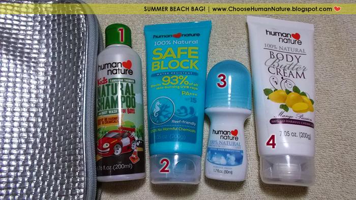 summer beach bag 2014 Human Nature