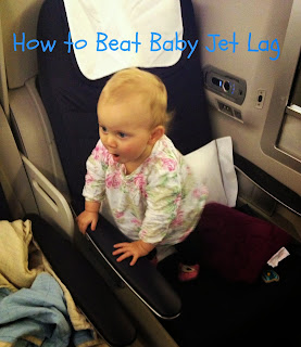 How to Beat Baby Jet Lag