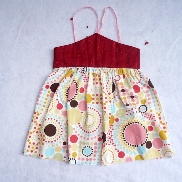 strawberry vanilla dress pattern