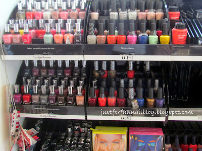 Shopping in Warsaw: Nail Polish! Sephora