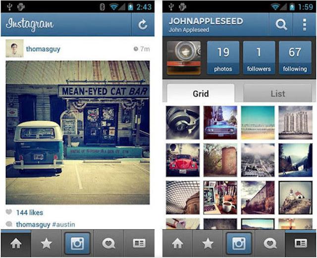 Instagram augmente la définition des images à 1 080 x 1 080 pixels