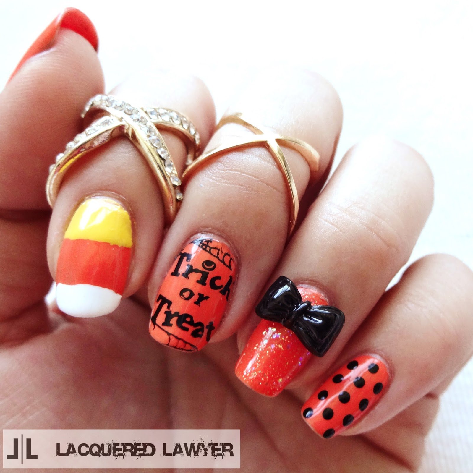 Trick-or-Treat Nails