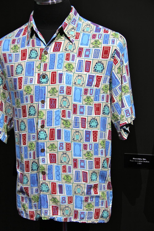 Disney sisters john lasseter 39 s hawaiian shirt collection for John lasseter disney shirts