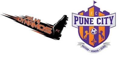 FC Pune City Vs Delhi Dynamos FC Live Score, Commentary, Streaming