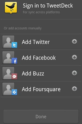 TweetDeck (Twitter, Facebook) Apk for Android