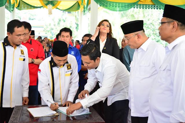 Pilkada Medan, PKS Resmi Dukung Pasangan Dzulmi Eldin dan Akhyar Nasution