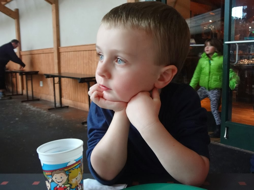 My adorable nephew Cohen