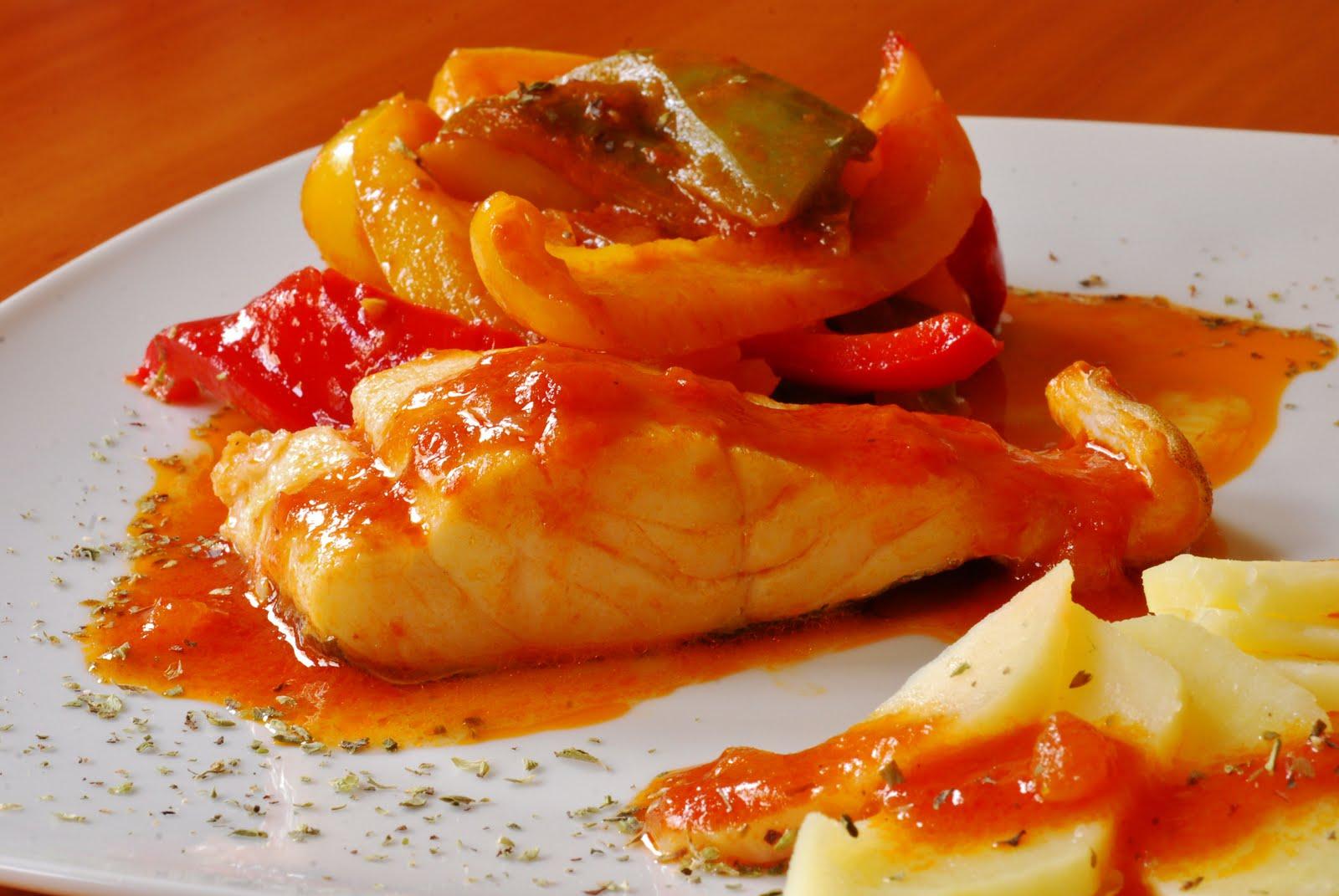 Bacalao tres pimientos cuchillito y tenedor for Plantar pimientos y tomates