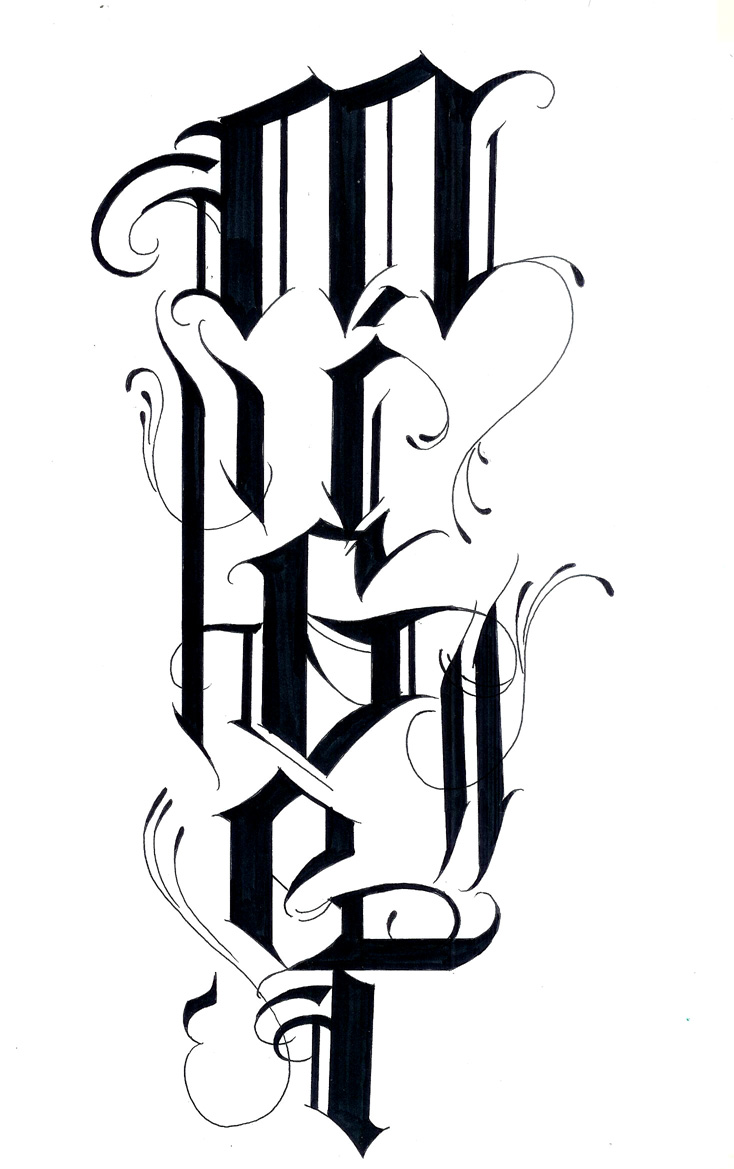 Alphabet Tattoo Designs Tribal | www.imgkid.com - The ...