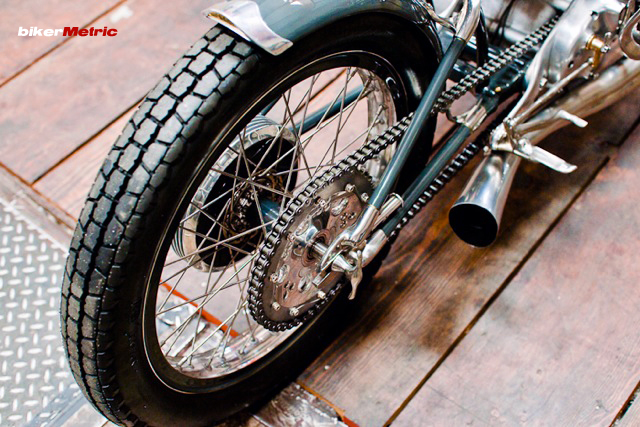 falcon motorcycles black shadow fender | photo by lance dawes