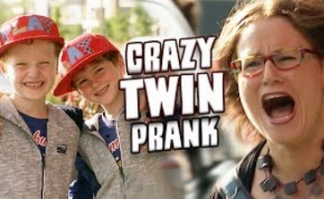 Funny Video – You Lost My Son!? TWIN PRANK