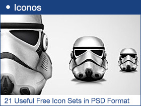 21 Useful Free Icon Sets in PSD Format