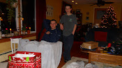 Patrick and Alex on Christmas Day, 2010