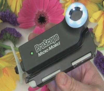 ProScope Micro Mobile, Bikin iPhone dan Galaxy S4 Bisa Foto Didalam Air
