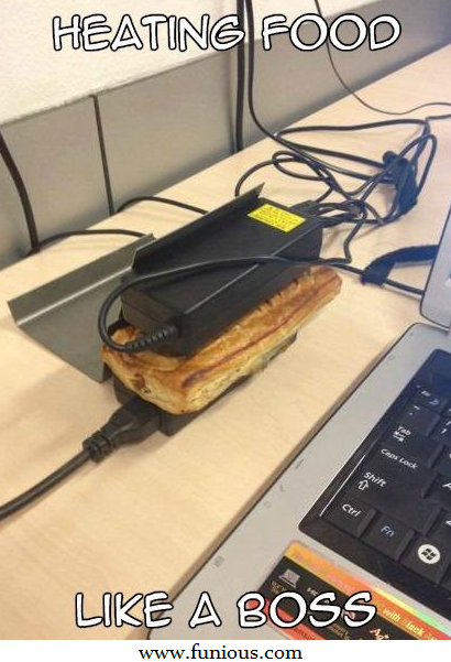 Funny Food Heating Images