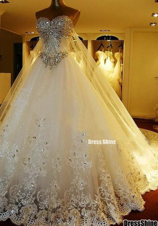 See More New Hoting white&ivory wedding dresses Bridal custom