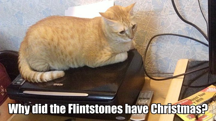 Why did the Flintstones have Christmas?