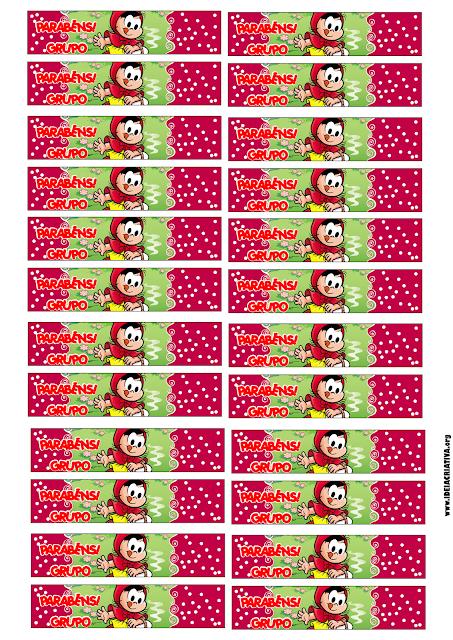 Garrafinhas Personalizadas Conto Chapeuzinho Vermelho