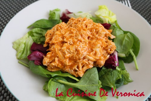 La Cuisine De Veronica Piri Piri Pulled Chicken Salad