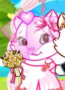 Веселая кошачья свадьба - Онлайн игра для девочек