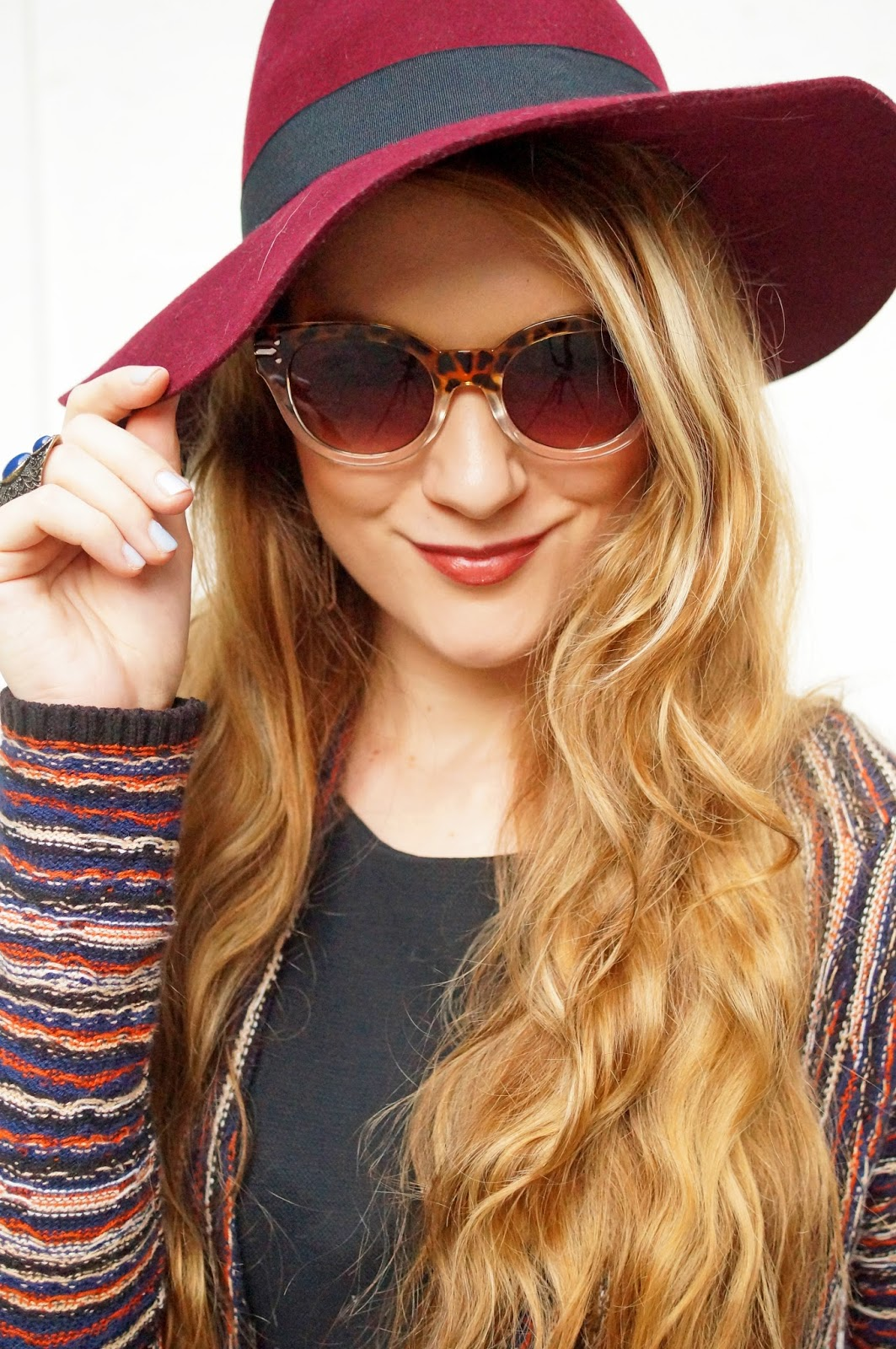 I love hats for Fall, they always look so chic!
