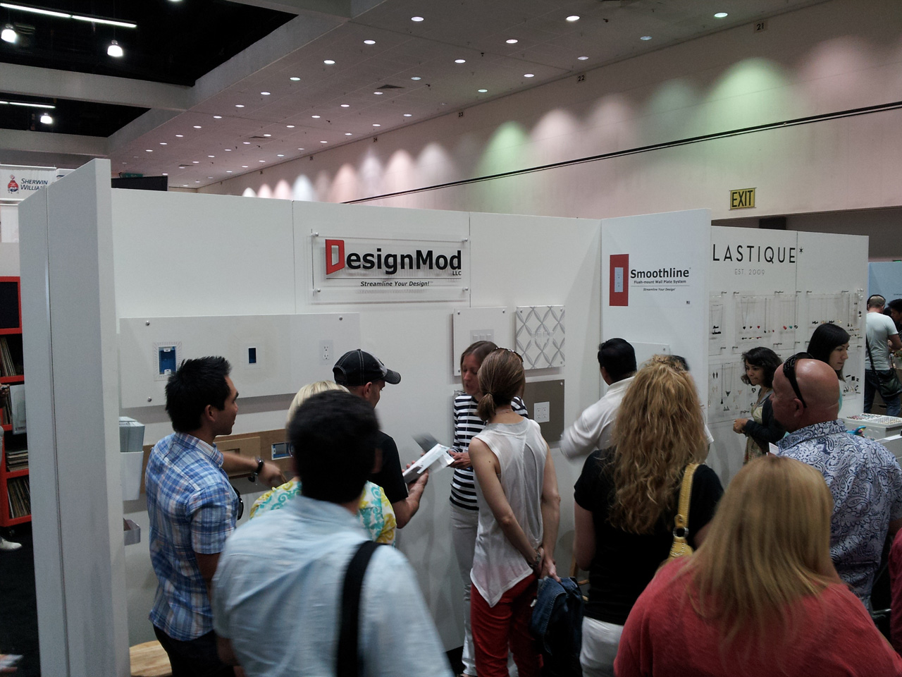 DesignMod booth at Dwell on Design 2013