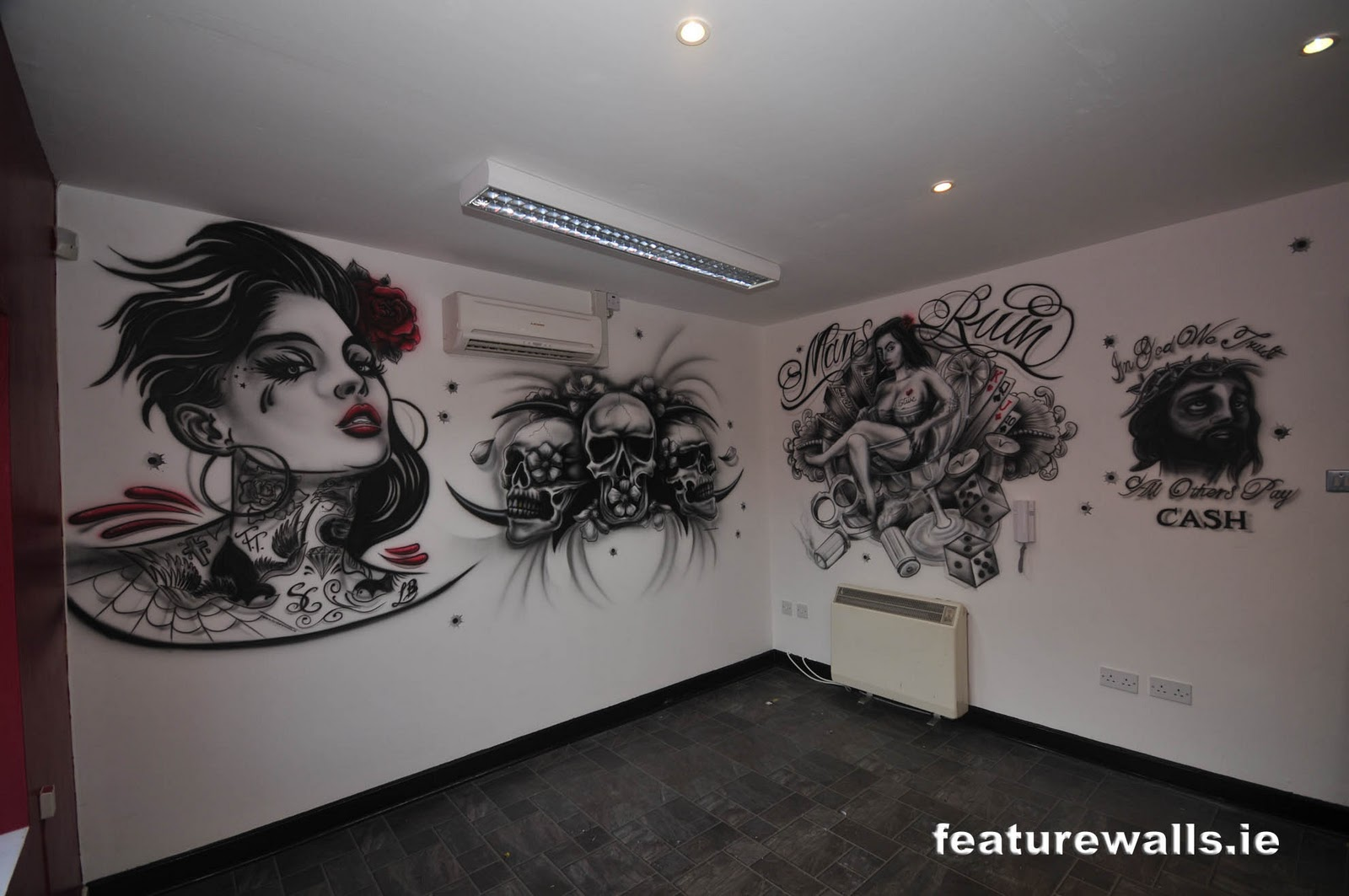 Interior design tattoo parlor joy studio design gallery for Tattoo shop design