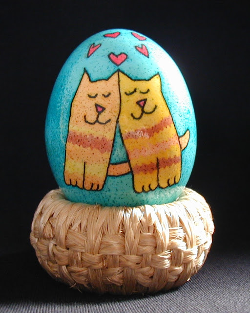Purrfect Love Easter Egg by Becky, USA