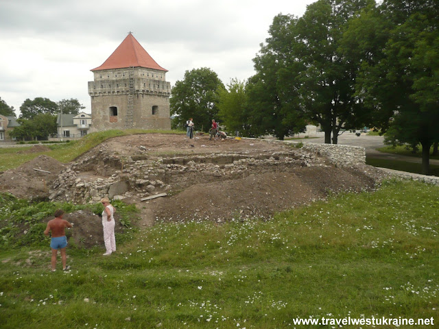 Skalat Castle Excavation, Western Ukraine