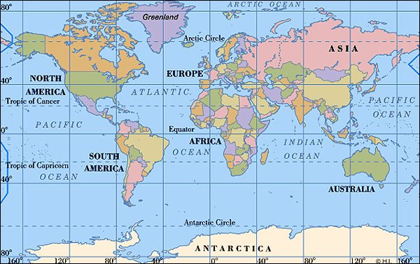 Major ports of the world world map world map gumiabroncs Image collections