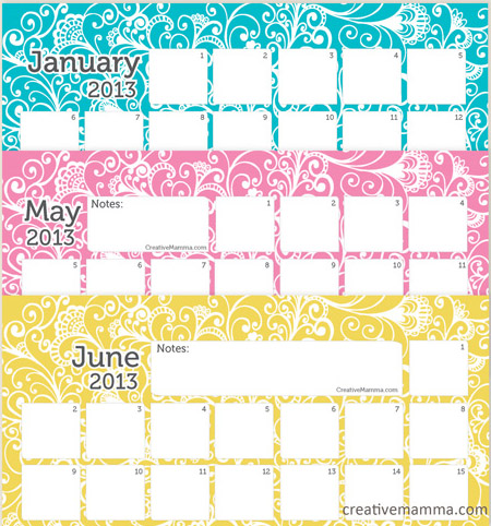 """Search Results for """"Large Printable Calendar June July August 2013 ..."""