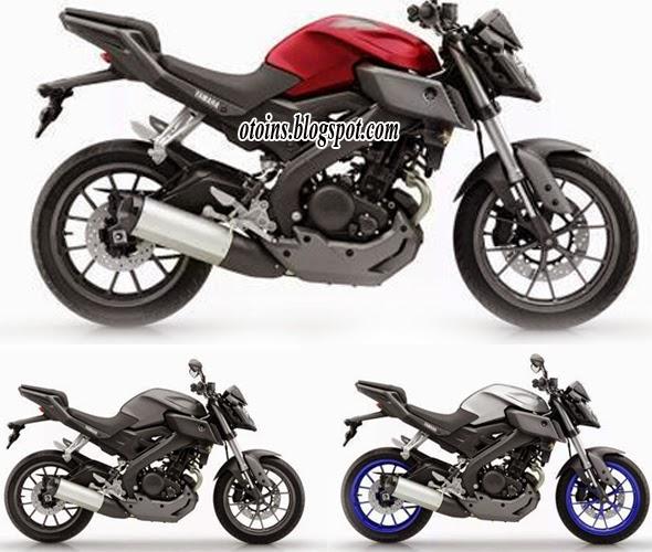 Pilihan Warna Dan Harga Yamaha MT-125 Terbaru