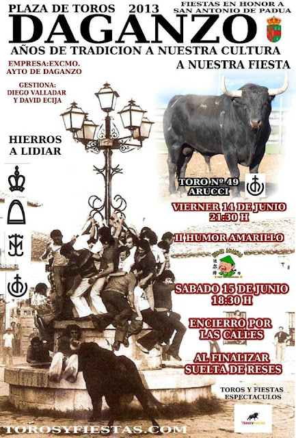 Fiestas junio 2013 daganzo de arriba madrid fecartoros - Daganzo de arriba ...