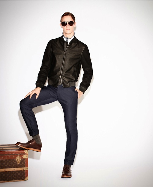 Louis Vuitton Homme Pre-Fall 2013 Collection | Lookbook