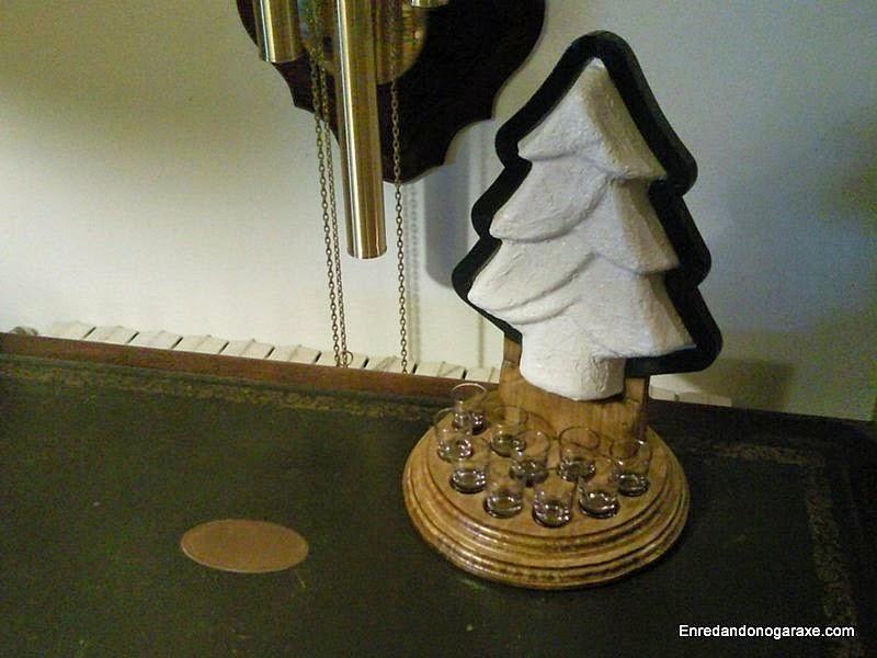 Cómo hacer una lámpara con forma de árbol. Enredandonogaraxe.com