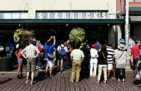 starbuck number 1 seattle pacific northwest travel photography