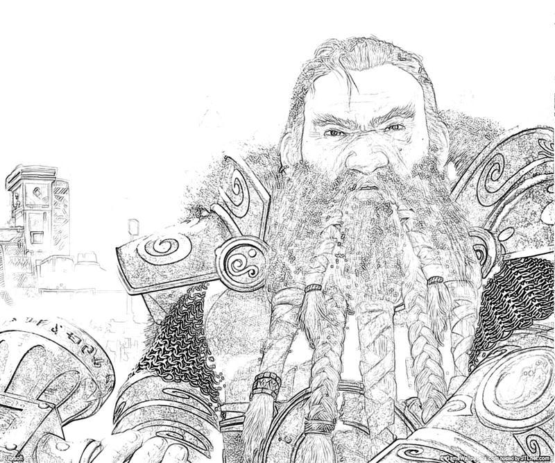 printable-might-and-magic-heroes-best-dwarf-coloring-pages
