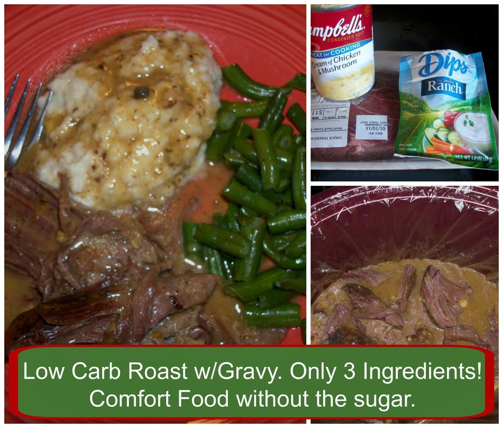 3 Ingredient Low Carb Recipe