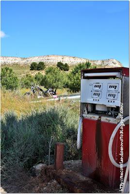 gasolinera abandonada, hd sportster 800