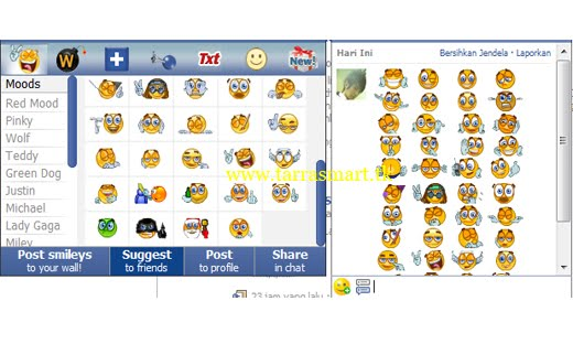 Riccasux Facebook Smileys And Symbols