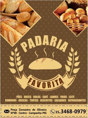 PADARIA FAVORITA · CAMPANHA