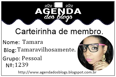 ♡ Agenda dos Blogs ♡