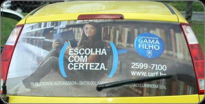 Universidade Gama Filho anuncia novamente com a Farol Mídia