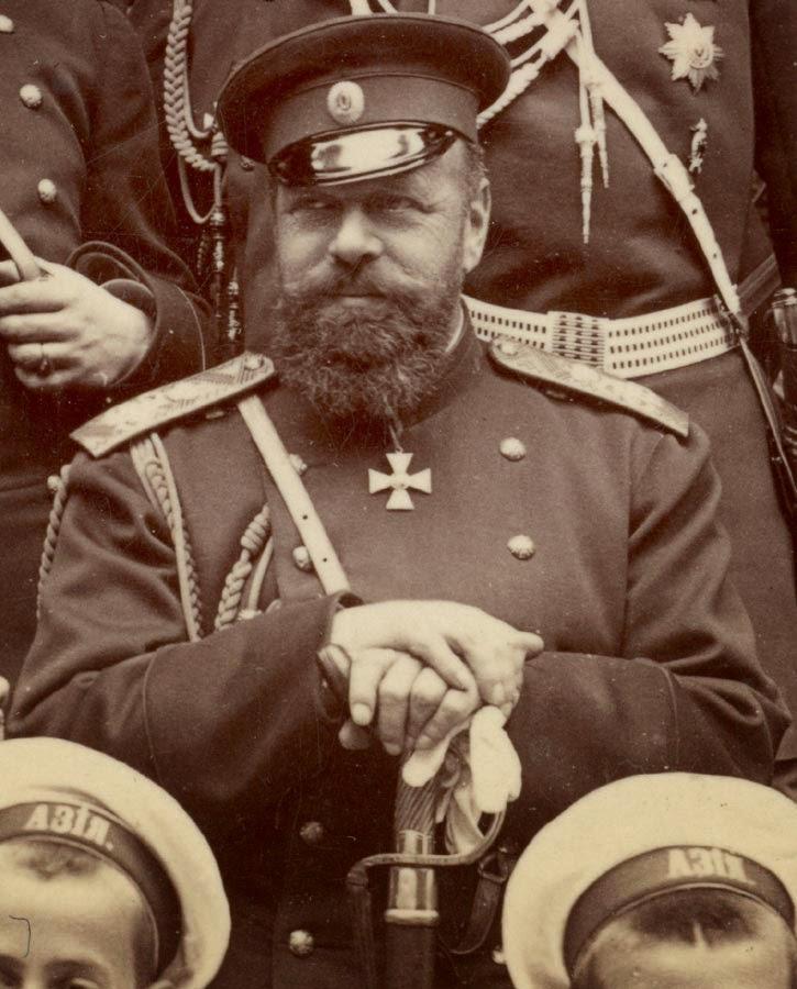 Император российский, Александр III.