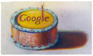 Wayne Thiebaud, Google Doodle, 12th birthday