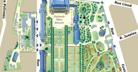 Jard n bot nico de par s horarios y entradas for Precio entrada jardin botanico madrid