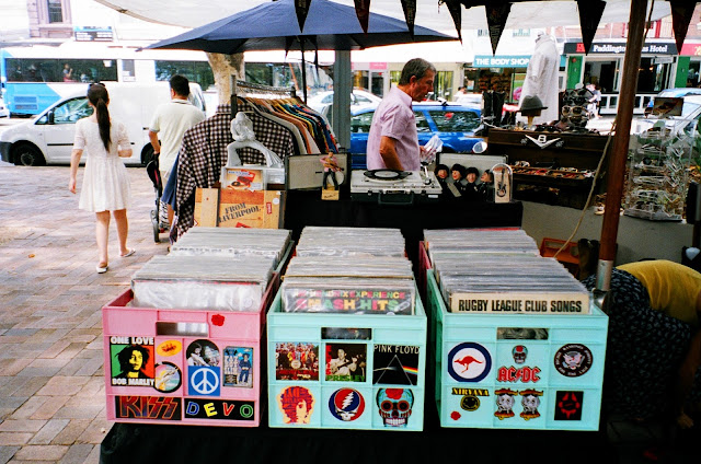 Paddington Markets Oxford St Sydney Vinyl records