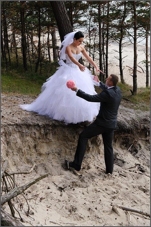 vestuvinės nuotraukos prie jūros